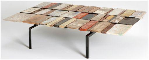 132 Tafelblad Maken Steigerhout  tafelblad maken