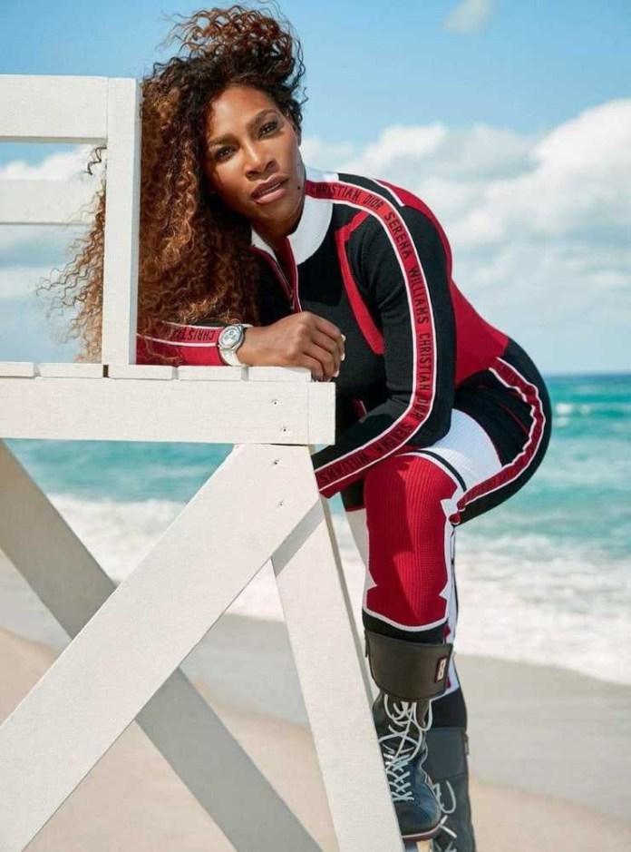 Serena Williams set booty