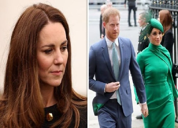 Kate Middleton's sleepless nights and 'bouts of anxiety' after Meghan and Harry split