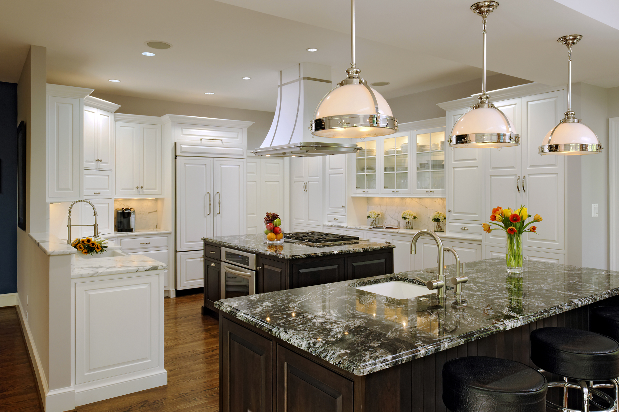 Beautiful Kitchen And Family Room Renovation In Great