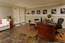 Lower Level Renovation Creates Home Office In Mclean