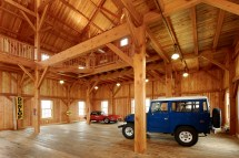 Timber Frame Barn Garage