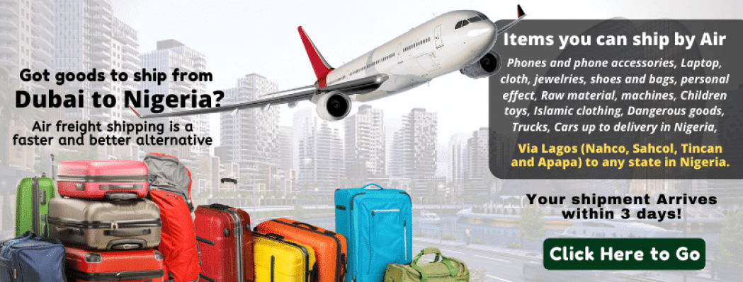 Freight Shipping from Dubai to Nigeria
