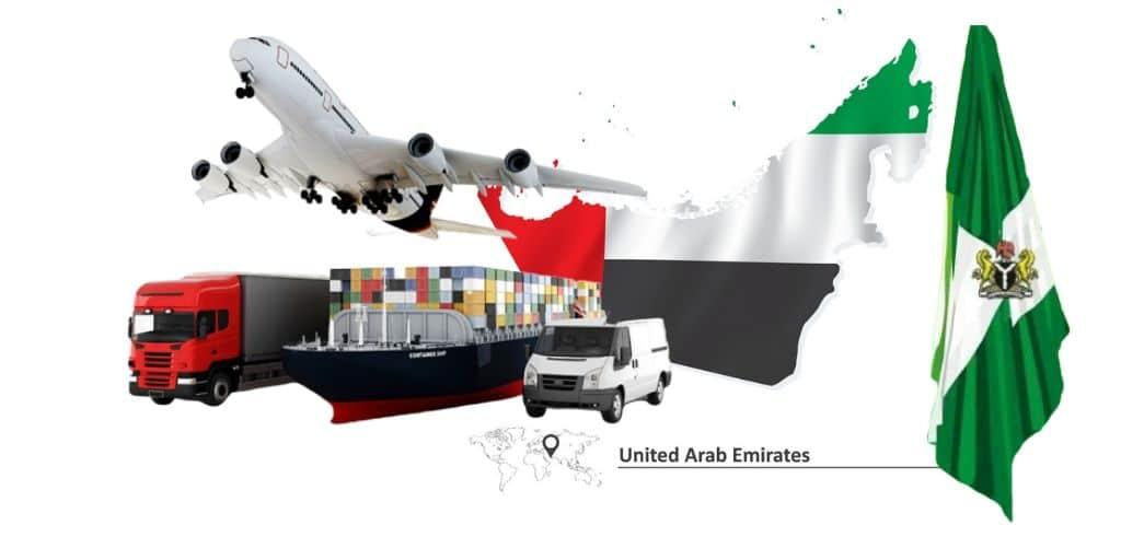 Dubai shipping to Nigeria