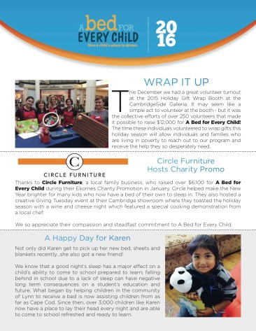 A BED FOR EVERYCHILD NEWSLETTER 2016-jpeg