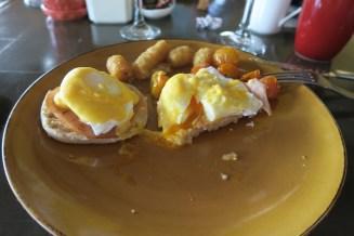 Santa Fe. Egg's Benedict.