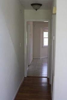 View as you enter house