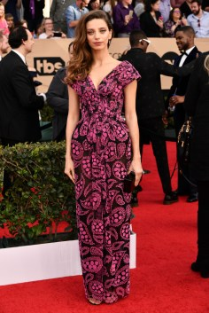 Mandatory Credit: Photo by Rob Latour/REX/Shutterstock (8137126co) Angela Sarafyan The 23rd Annual Screen Actors Guild Awards, Arrivals, Los Angeles, USA - 29 Jan 2017