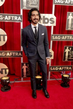 Mandatory Credit: Photo by Eric Charbonneau/REX/Shutterstock (8137746g) Dev Patel The 23rd Annual Screen Actors Guild Awards, Arrivals, Los Angeles, USA - 29 Jan 2017