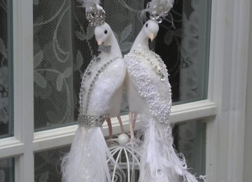 54e8aa2702d White Peacock Wedding Dress Weddingcafeny