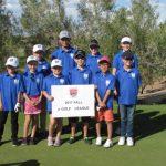 Junior Golf Academy 2017 blue league group photo