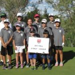 Junior Golf Academy 2017 green league group photo