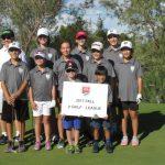 Junior Golf Academy 2017 green league group photo