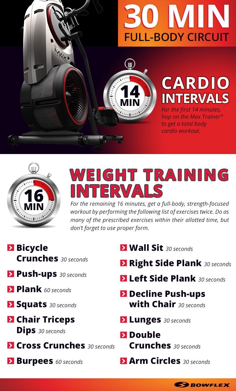 Printable Bowflex Workouts : printable, bowflex, workouts, Minute, Full-Body, Interval, Workout, Circuit, Bowflex