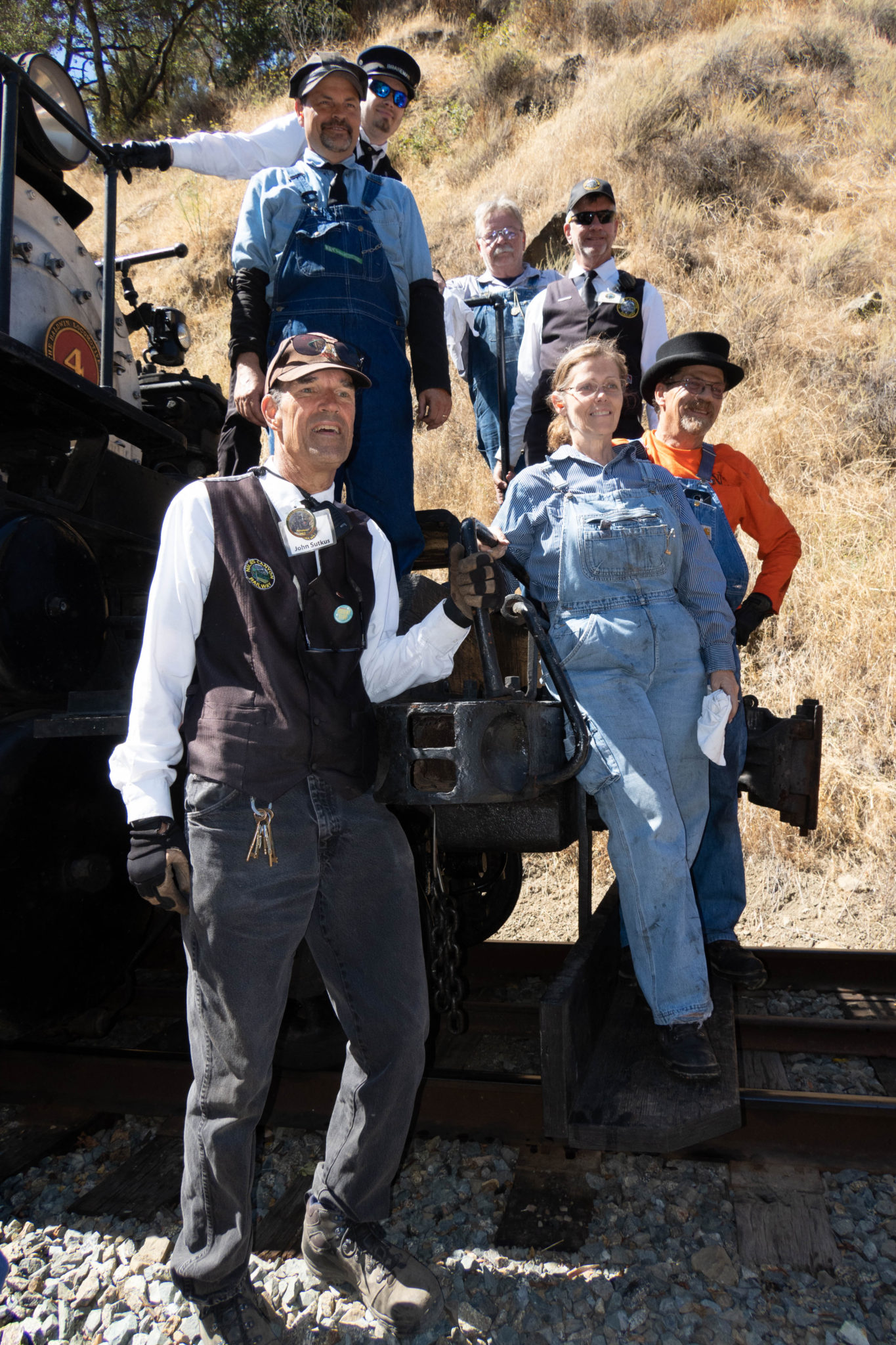 Niles Canyon Railway 150th Golden Spike