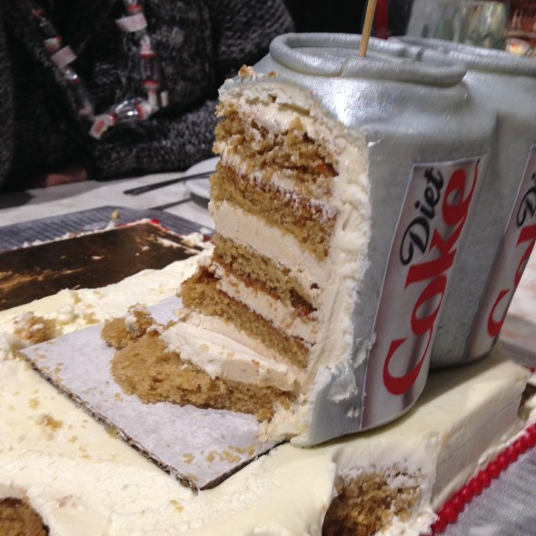 second view of cake