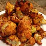 smokey roasted cauliflower