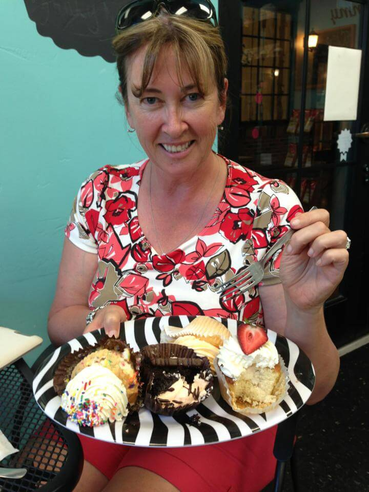 About me - cake testing for the next flavor!