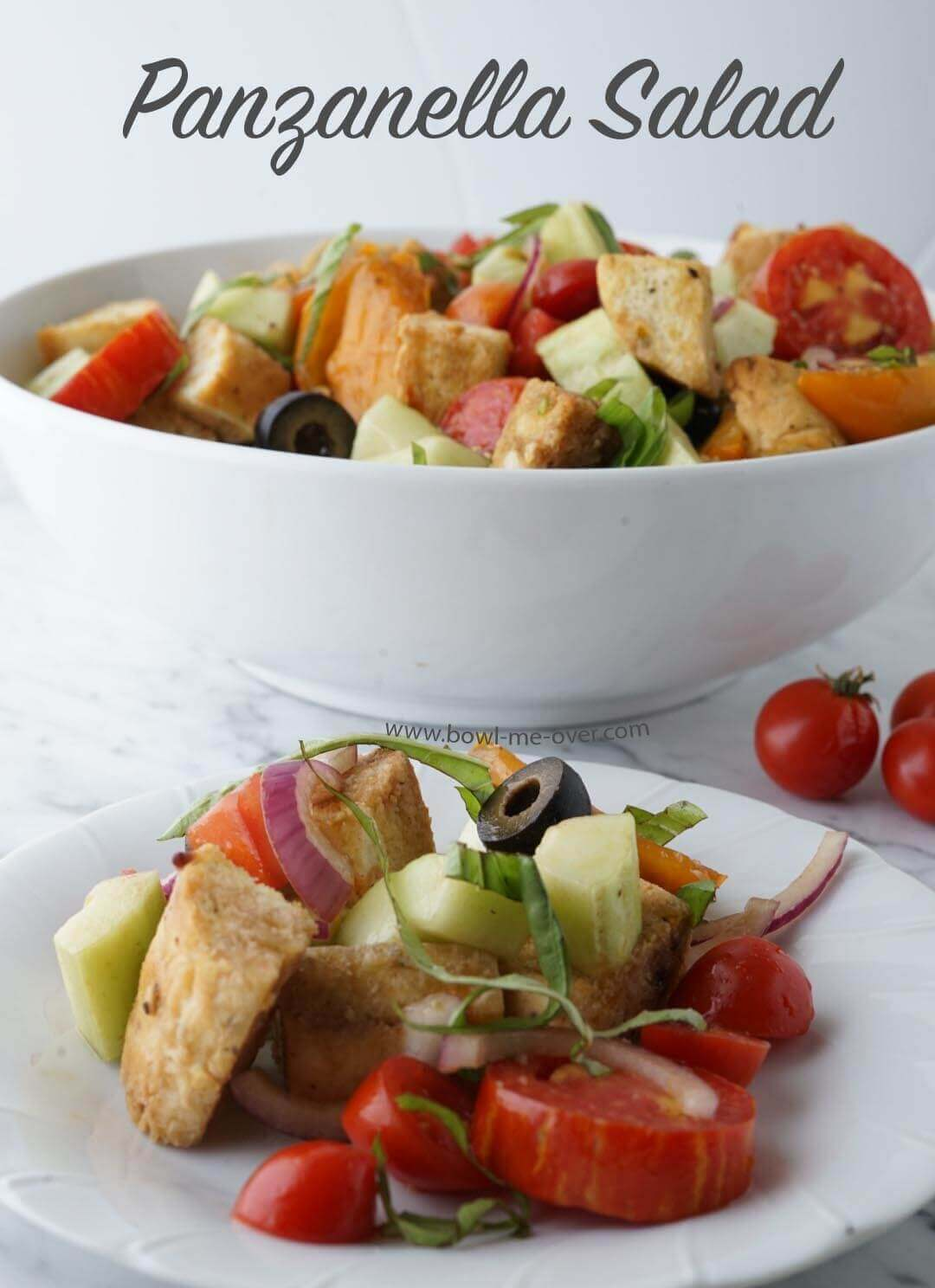 Panzanella Salad is a great summer salad!