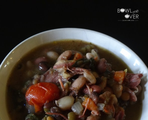 Another view 1 Cup 15 Bean Soup