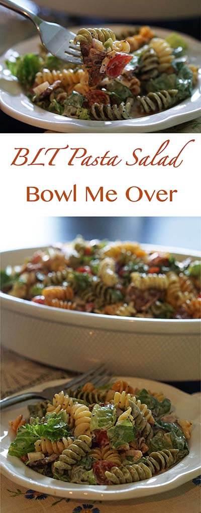 BLT Pasta Salad Pin