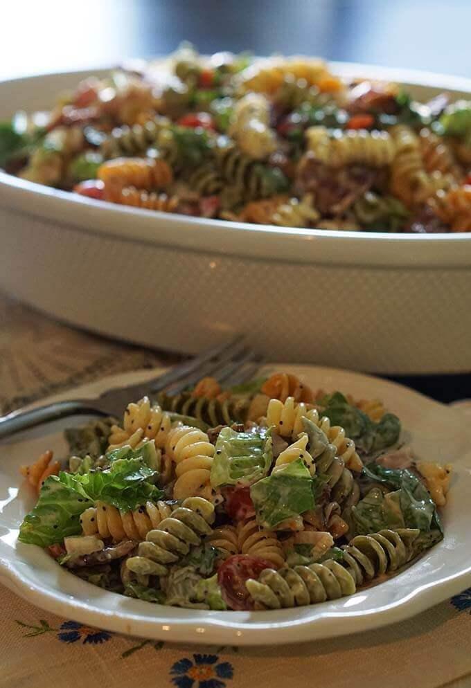 BLT Pasta Salad - a family favorite!