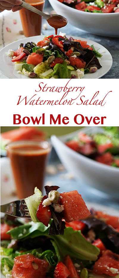 Strawberry Watermelon Salad Pin