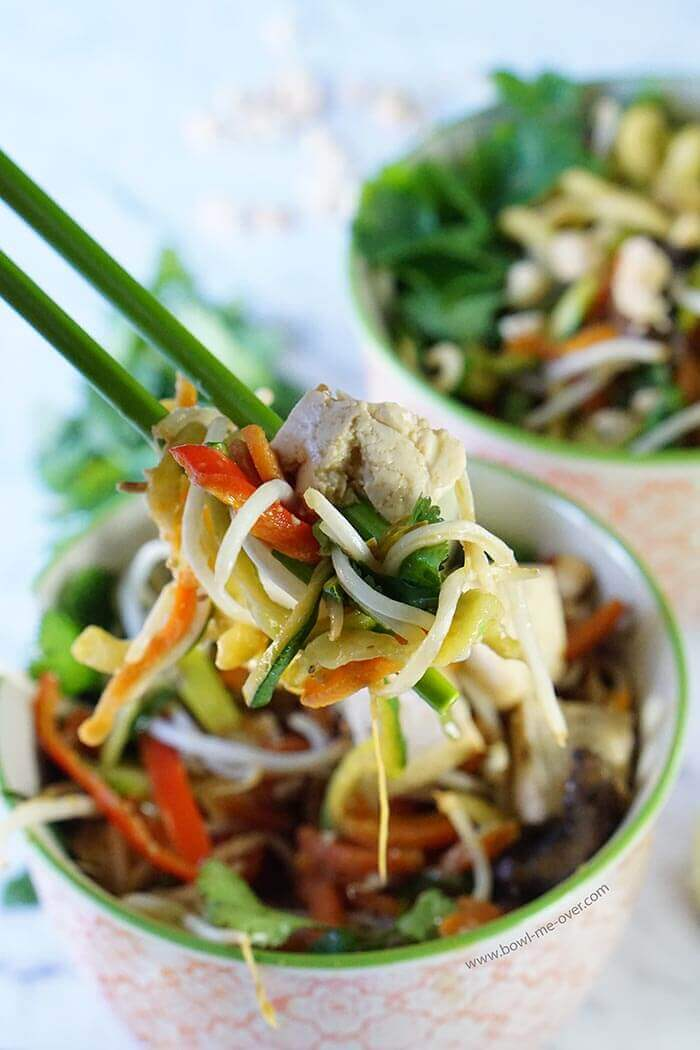 Pad Thai Noodle Bowl is another great meal in a bowl! Love this easy and complete meal!!