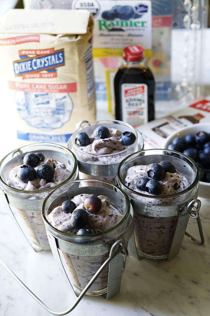 This parfait takes only 10 minutes to make!