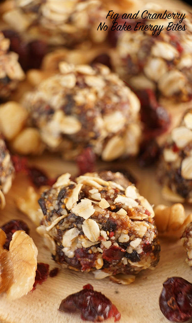 No Bake Energy Bites are pure deliciousness!
