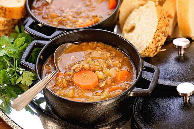 Instant Pot Quick Reference Guide Lentil Soup