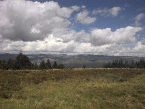Mt. Lozere range