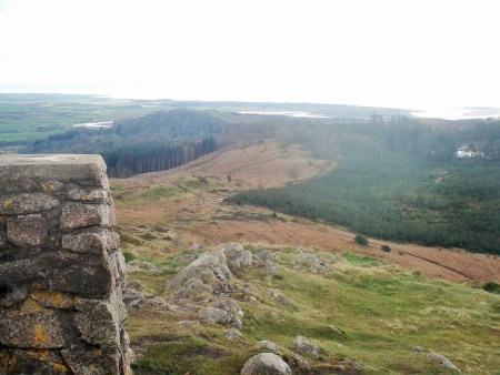 From Muncaster Fell to the coast.