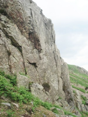 Bumble Arete on the right.