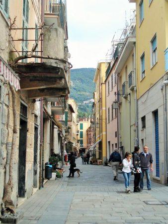 Moneglia -our street.