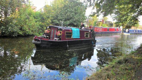 Lancaster Canal in Preston.