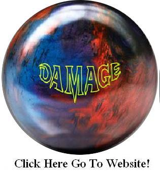 Brunswick Damage, bowling ball