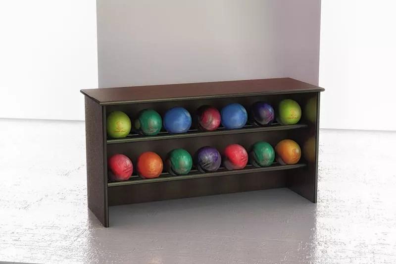 ball racks bowling furniture
