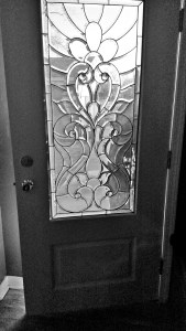 Montana Bowl of Cherries-inside view of finished door