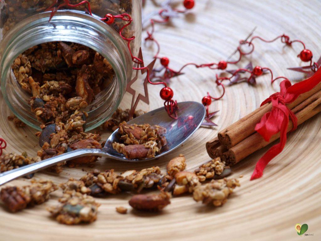 P1016101 1024x768 - Lebkuchen Buchweizen Granola