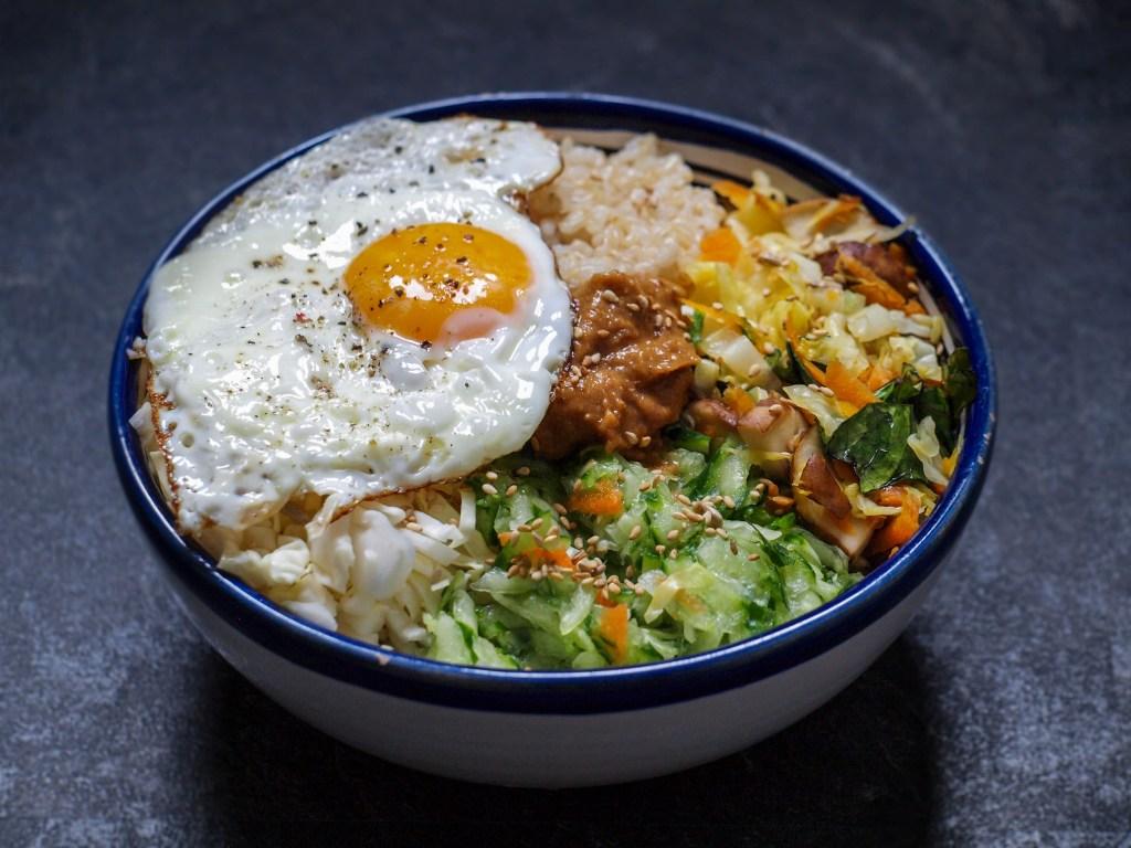 L1050853 LR 17 1024x768 - Vegetarisches Bibimbap: Kraftfutter auf koreanisch
