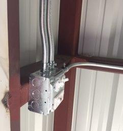 metal building light switch installation [ 960 x 1280 Pixel ]
