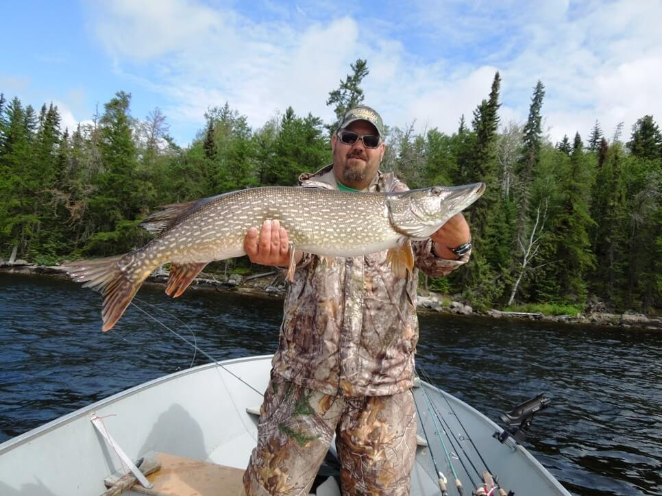 Red Lake Pike Fishing