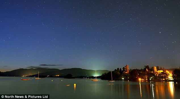 'tranquil waters of Lake Windermere near Bowness under a glorious night sky' courtesy of  http://www.dailymail.co.uk/news/article-2219805/The-South-France-No--Lake-District-captured-glorious-best-bathed-early-evening-sunshine.html