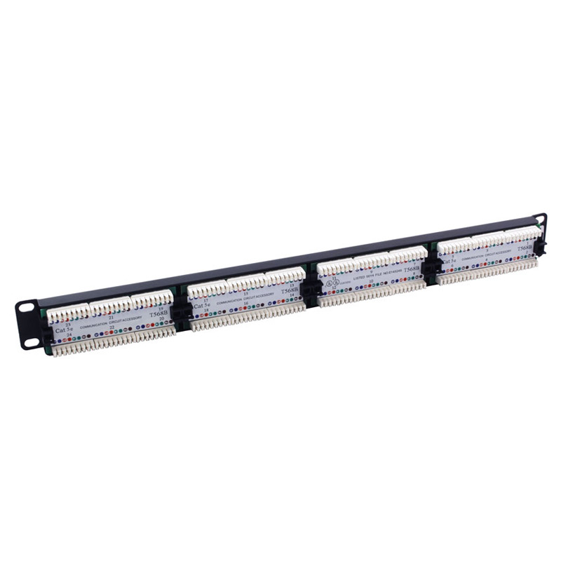 Excel Cat5e 24 Port RJ45 Patch Panel