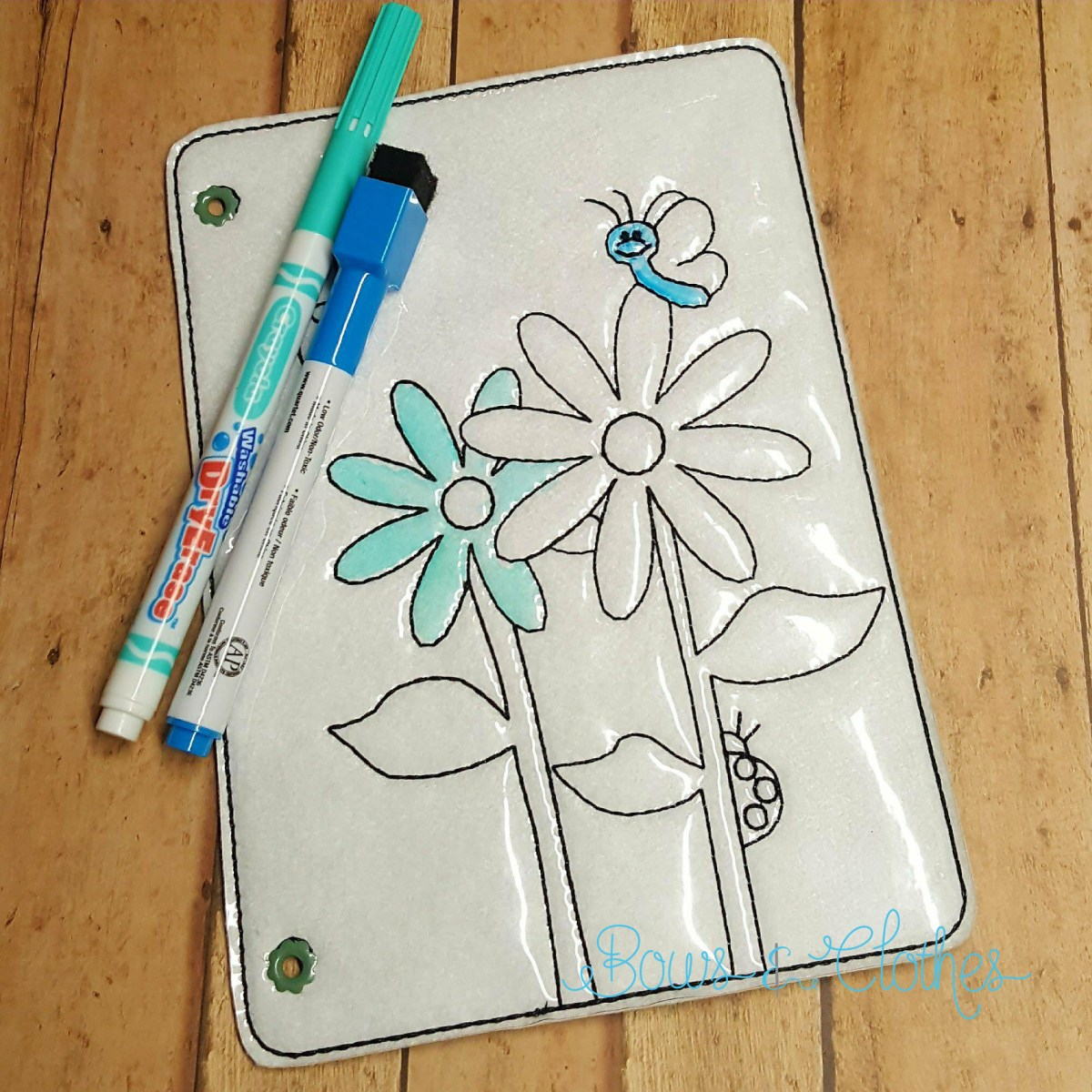 Daisies Coloring Book Page