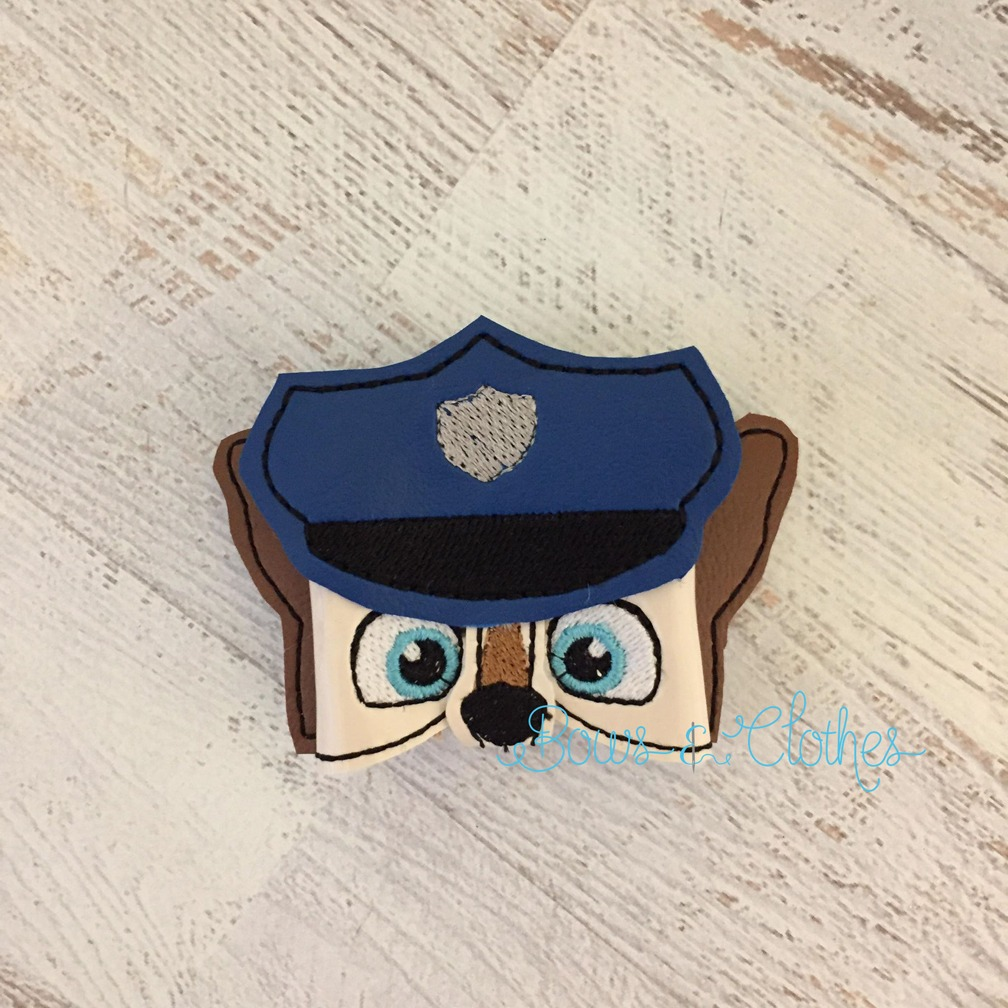 Police Dog Bow