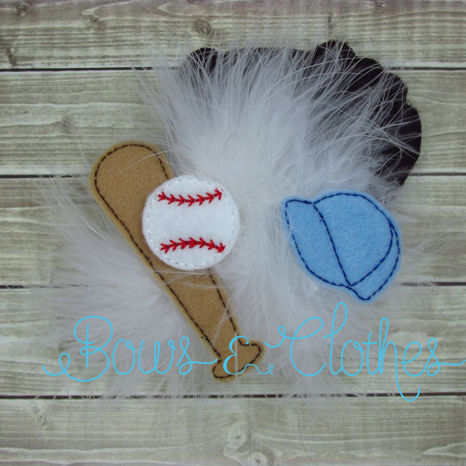 Baseball Oversized Felties
