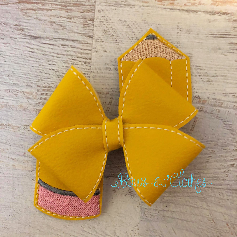 Loopy Pencil Bow