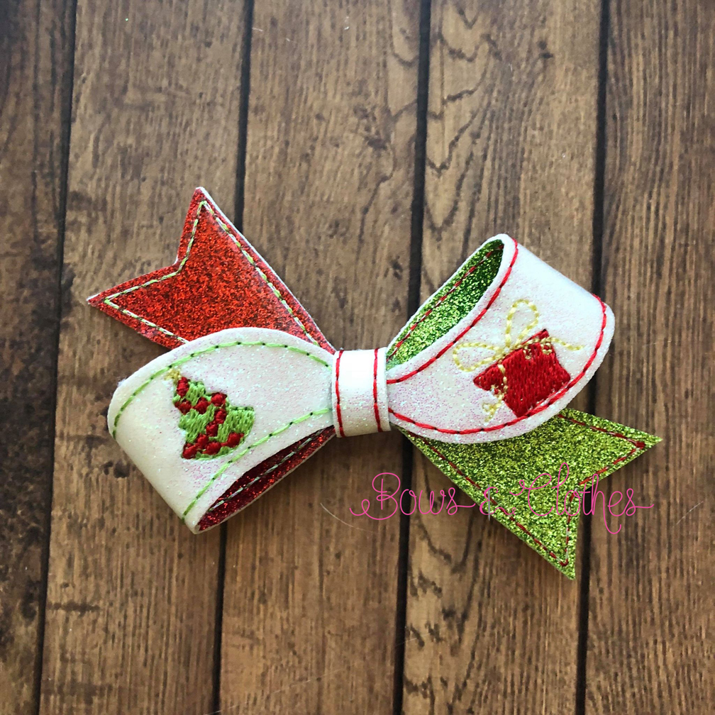 Christmas Twist Bow